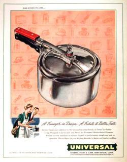 vintage pressure cooker ad